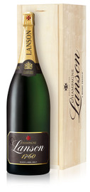 Lanson Black Label Brut NV Methuselah In Wood Box (6Ltr)