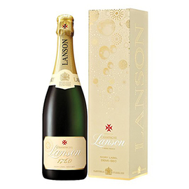 Lanson Ivory Label Demi-Sec NV In Gift Box (75cl)