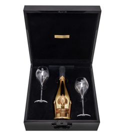 Armand de Brignac Brut Gold Gift Set With 2 Glasses (75cl)