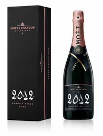 Moet & Chandon Grand Vintage Rose 2012 (75cl)