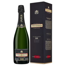 Piper-Heidsieck Brut Vintage 2008 In Gift Box (75cl)