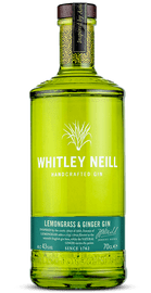 Whitley Neill Lemongrass and Ginger Gin (70cl)