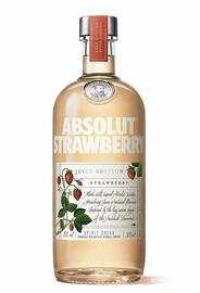 Absolut Strawberry Juice Vodka (50cl)