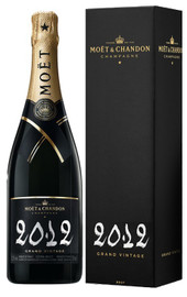 6 x Moet & Chandon Grand Vintage 2012 In Moet Box (75cl)