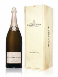 Louis Roederer Brut Premier NV Jeroboam In Wood Box (3Ltr)