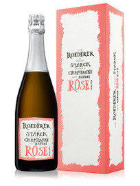 Louis Roederer Brut Nature Rose 2012 By Philippe Starck (75cl)