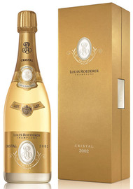 Louis Roederer Cristal 2002 In Gift Box (75cl)