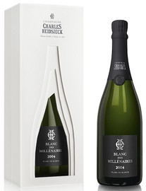 Charles Heidsieck Blanc des Millenaires 2004 In Crayere Gift Box (75cl)