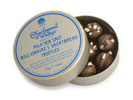 Charbonnel et Walker Milk Sea Salt Billionaires Shortbread Truffles (125g)