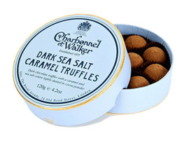 Charbonnel et Walker Dark Sea Salt Caramel Truffles (120g)