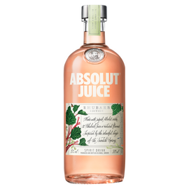 Absolut Vodka Juice Rhubarb (70cl)