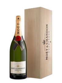 Moet & Chandon Brut NV Methuselah In Wooden Box (6Ltr)
