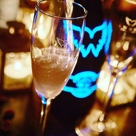 Angel Champagne Flute x 1