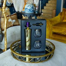 Au Vodka Black Grape Gift Set (70cl)