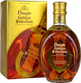 Dimple Golden Selection Blended Scotch Whisky (70cl)