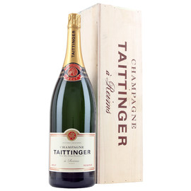 Taittinger Brut Reserve NV Jeroboam In Wood Box (3Ltr)