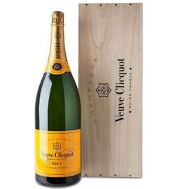 Veuve Clicquot Brut NV Salmanazar In Wood Box (9Ltr)