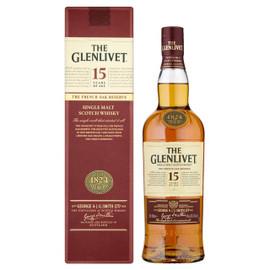 The Glenlivet 15 Years Old Malt Whisky (70cl)