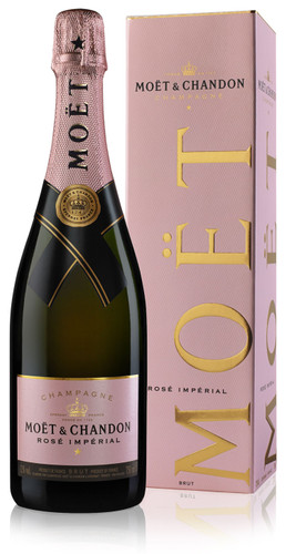 Moet & Chandon Rose NV In Moet Box (75cl)