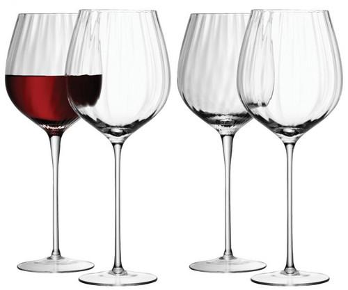 LSA Aurelia Red Wine Glass 660ml Clear Optic x 4