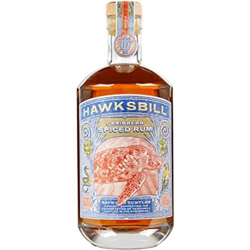 Hawksbill Caribbean Spiced Rum (70cl)