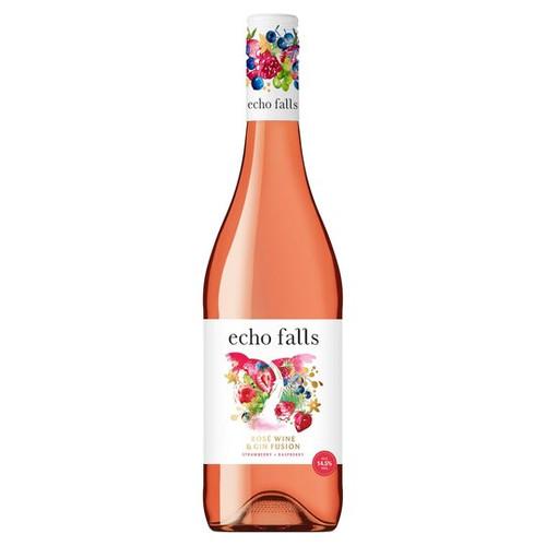 Echo Falls Rose & Gin Fusion (75cl)