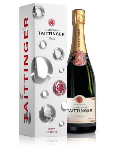 Taittinger Brut Reserve NV In Taittinger Box (75cl)