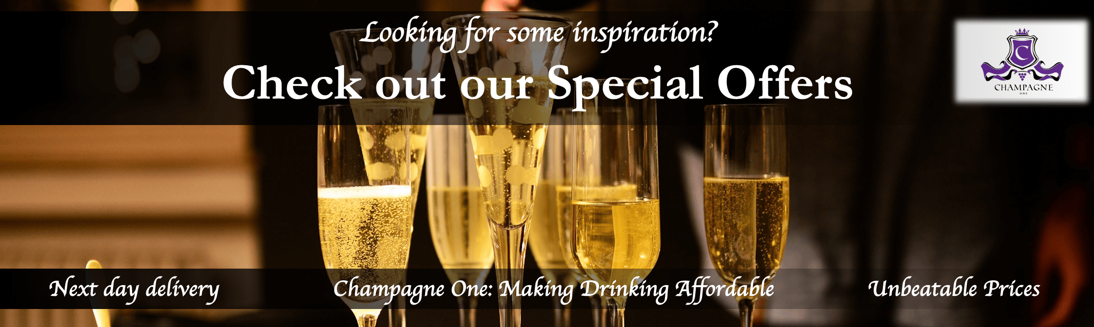 Special Offers from Champagne One