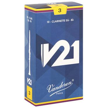 VANDOREN V21 B FLAT CLARINET REED