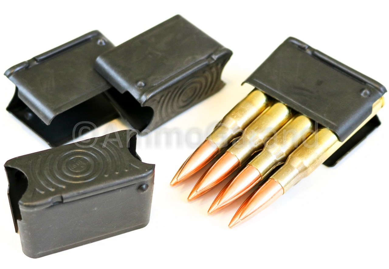 50ea M1 Garand Clips 8rd Enbloc AEC Coded NEW US Production