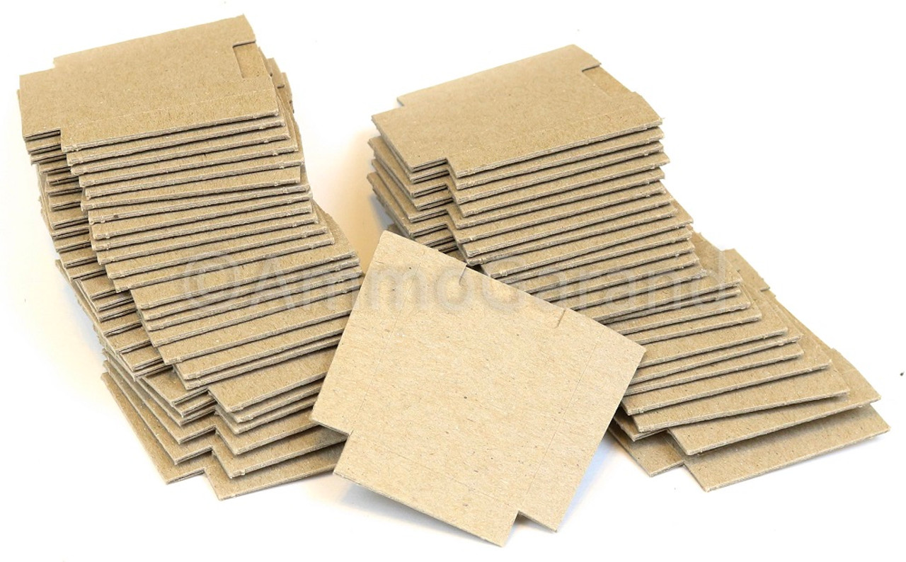 50ea M1 Garand USGI Cardboard Bandoleer Inserts / Silencers for 8 Round Clips NOS