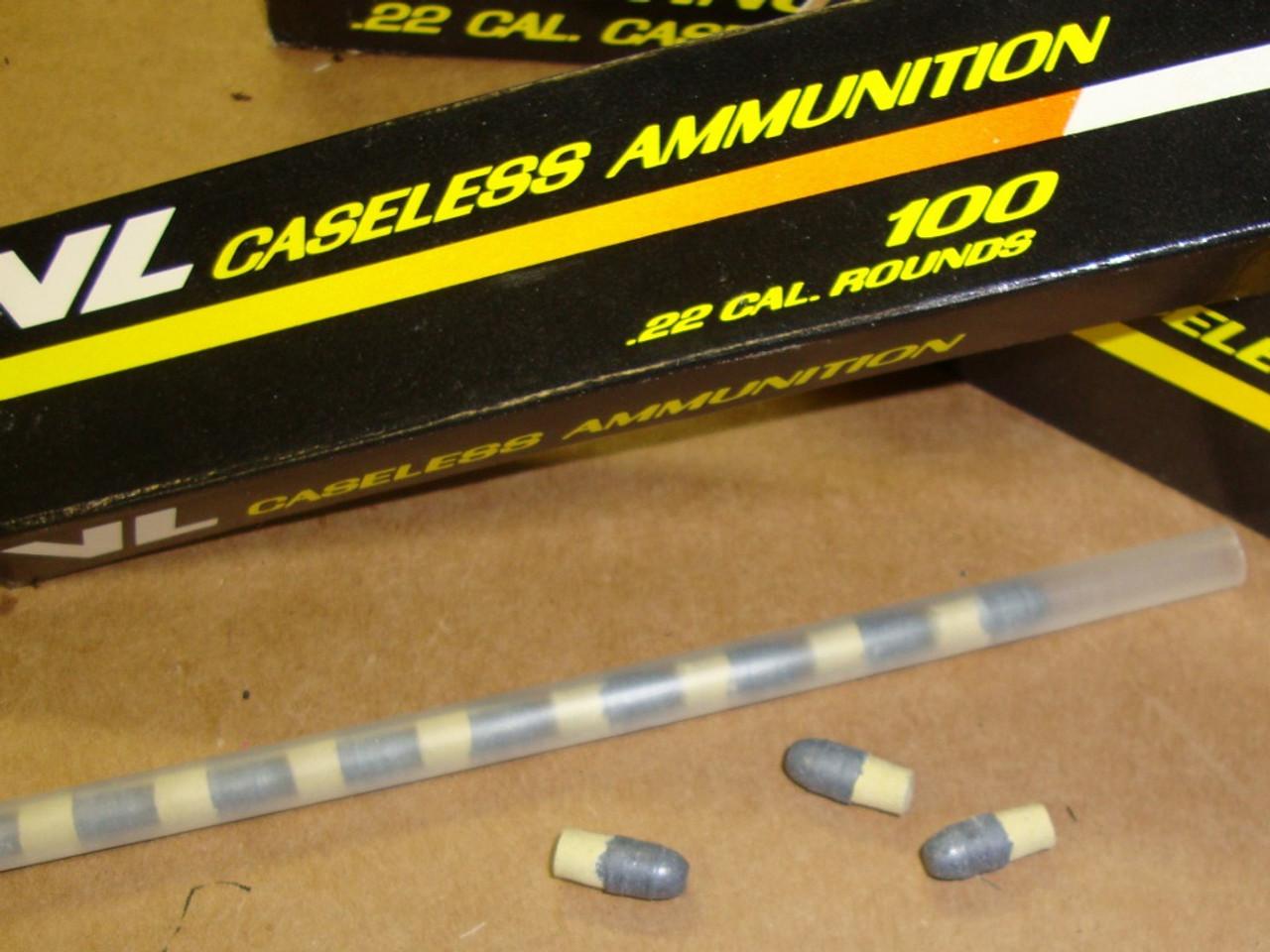 Daisy Heddon VL .22 Caseless Ammunition 100rd Box
