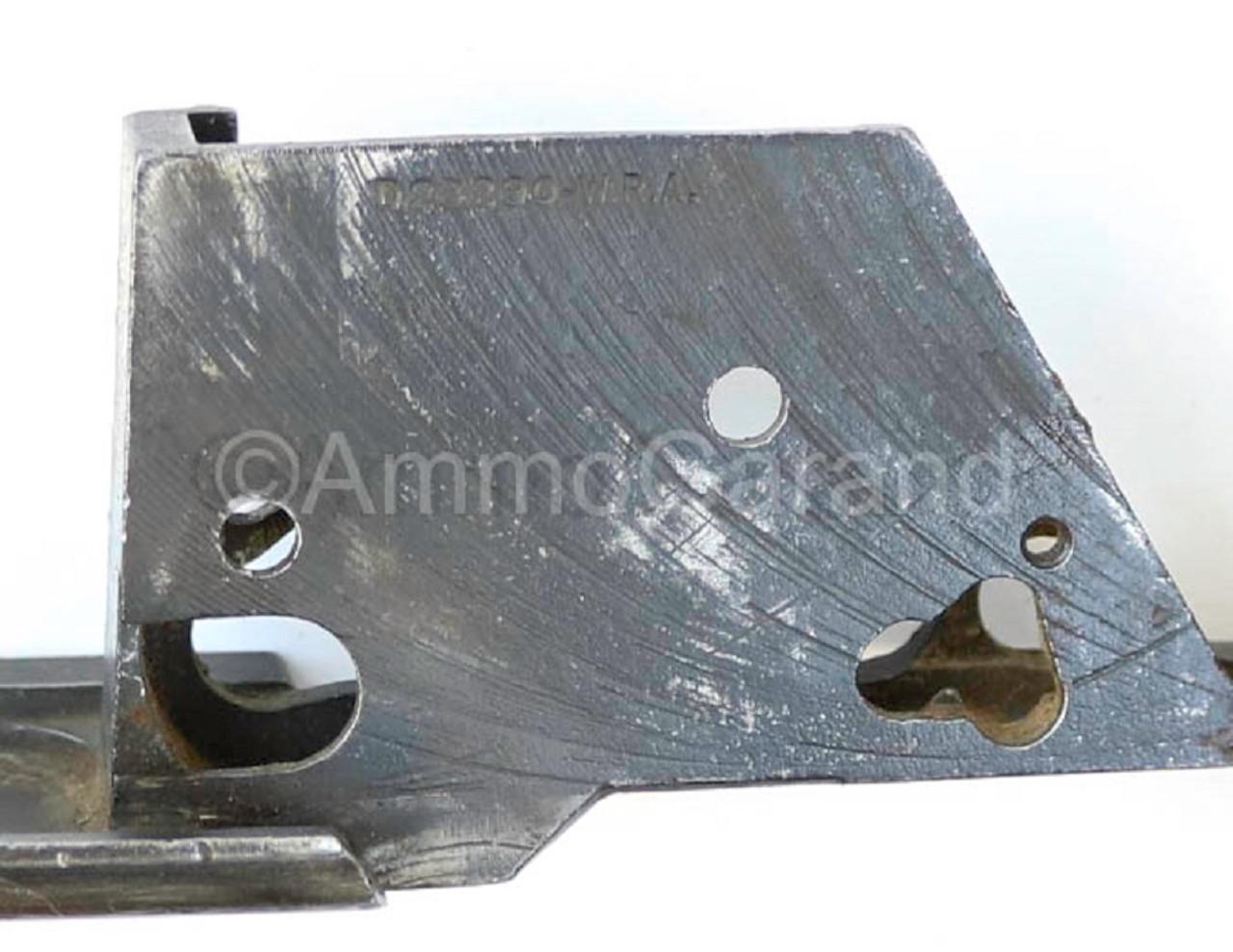 M1 Garand Winchester Trigger Housing D28290-W.R.A. Cloverleaf Hole w/ Small Pad Mid '43 on use