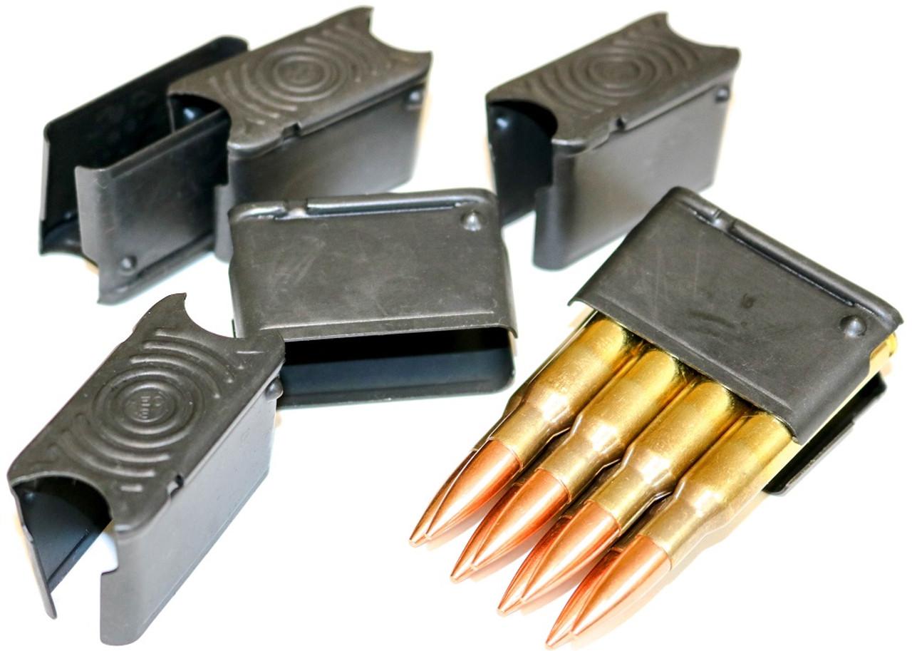 6ea M1 Garand 8 Round Clips Enbloc NEW US MIL SPEC