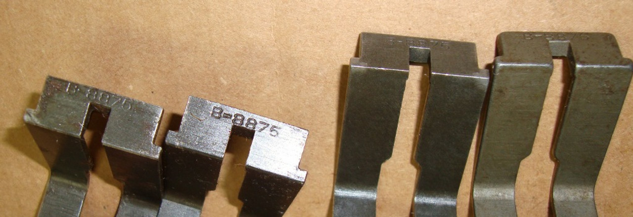 M1 Garand Springfield Milled Bullet Guide B-8875 Coded Narrow Slot<BR> Aug &#39;37- May &#39;39 Use