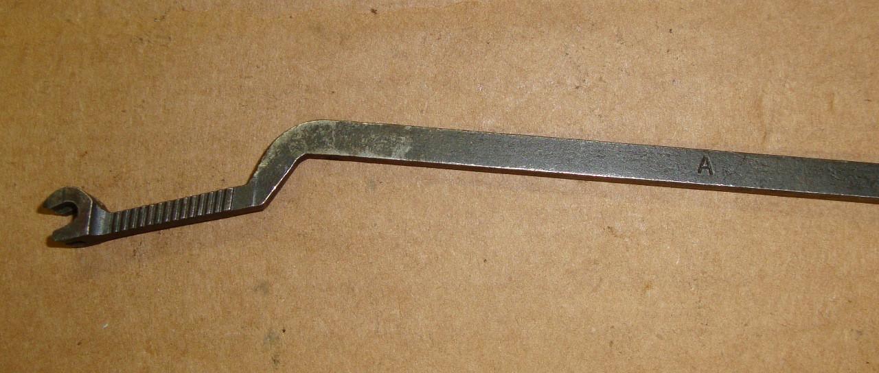 M1 Garand Winchester Short Fork Follower Rod A Marked WW2