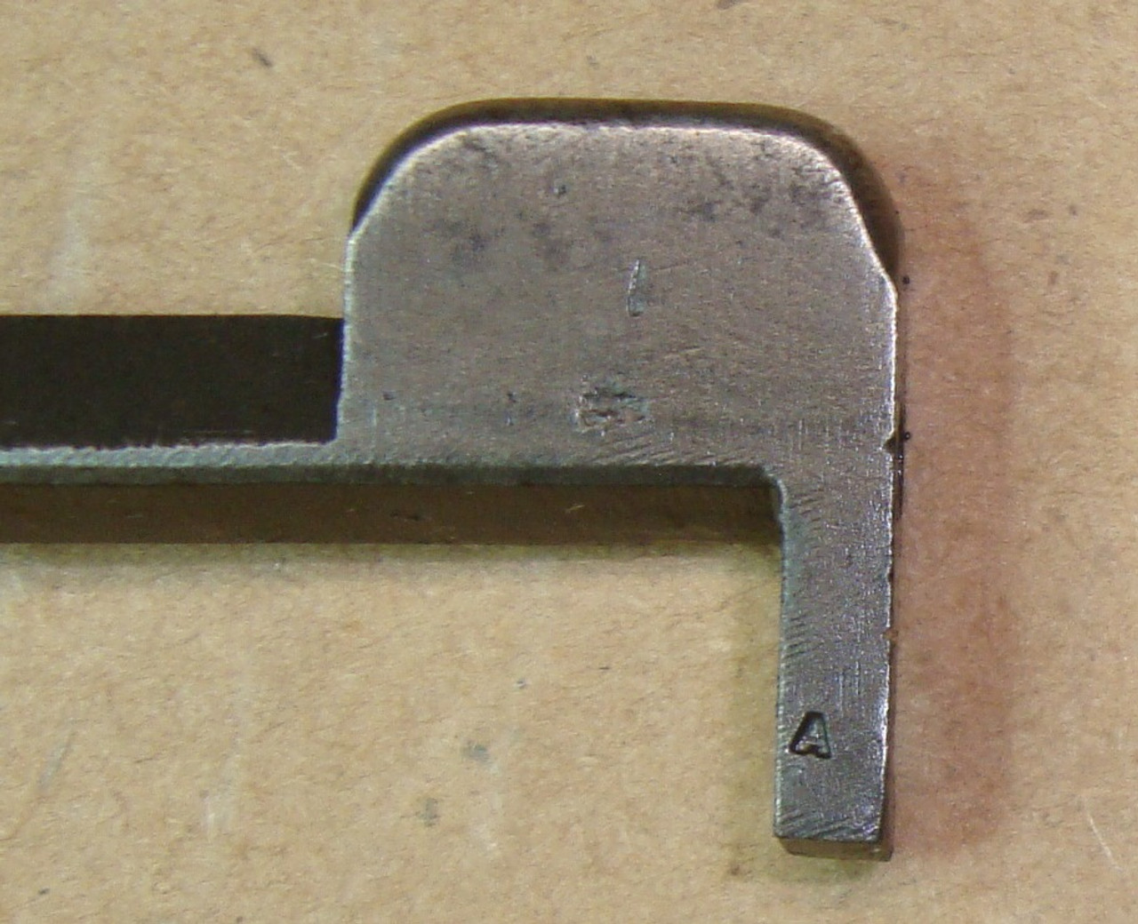 M1 Garand Winchester A Marked Clip Latch WRA WWII 2mil - WIN-13 Use