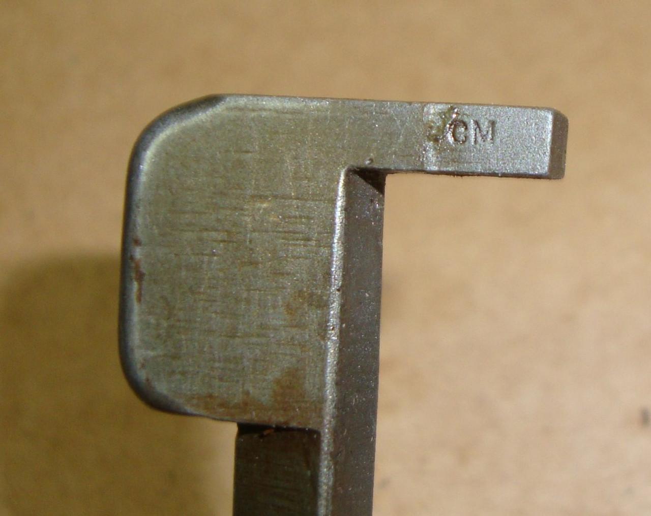 M1 Garand Winchester Clip Latch CM Coded WWII WRA