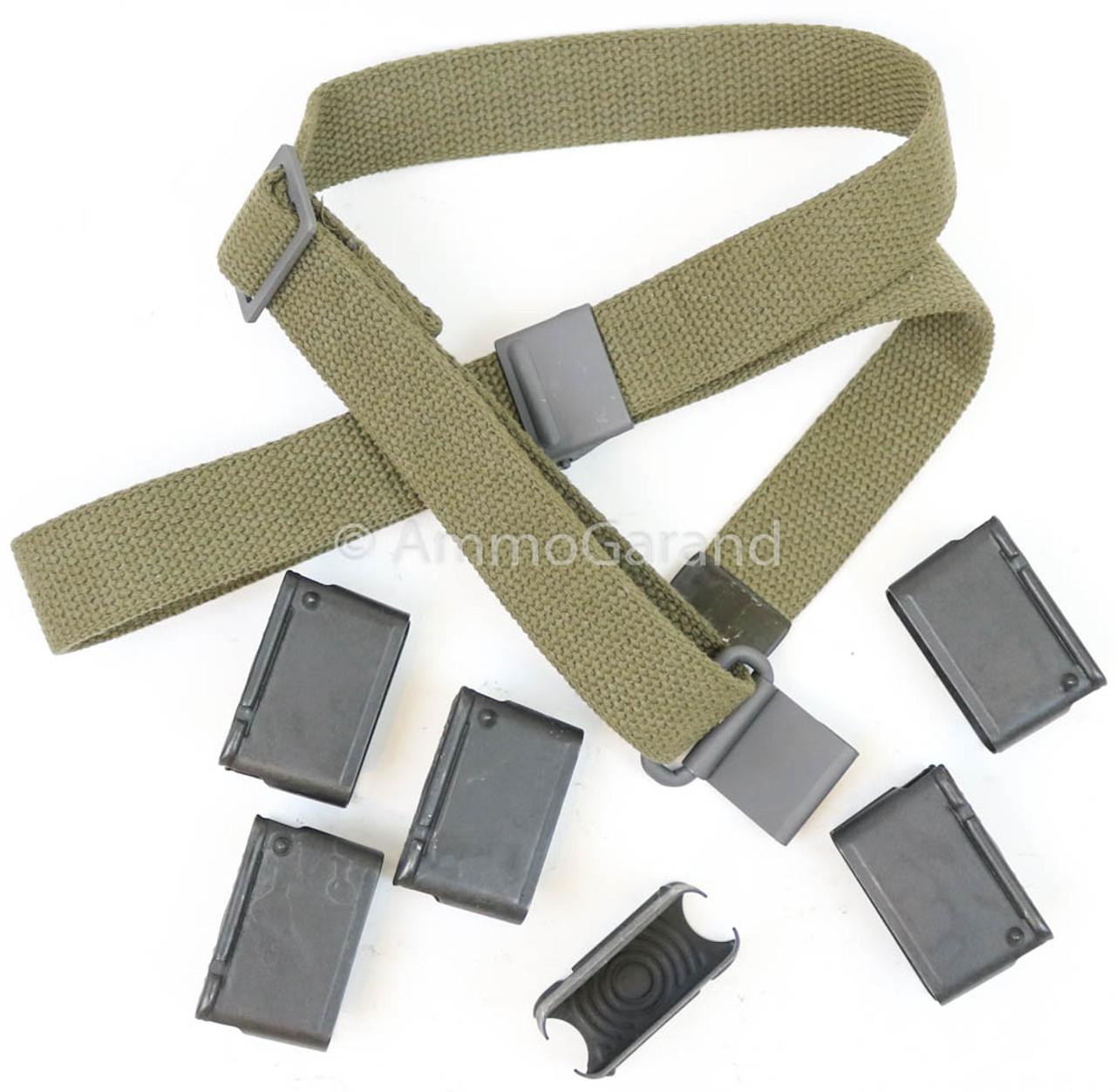 AmmoGarand Web Sling and M1 Garand 8rd Clips