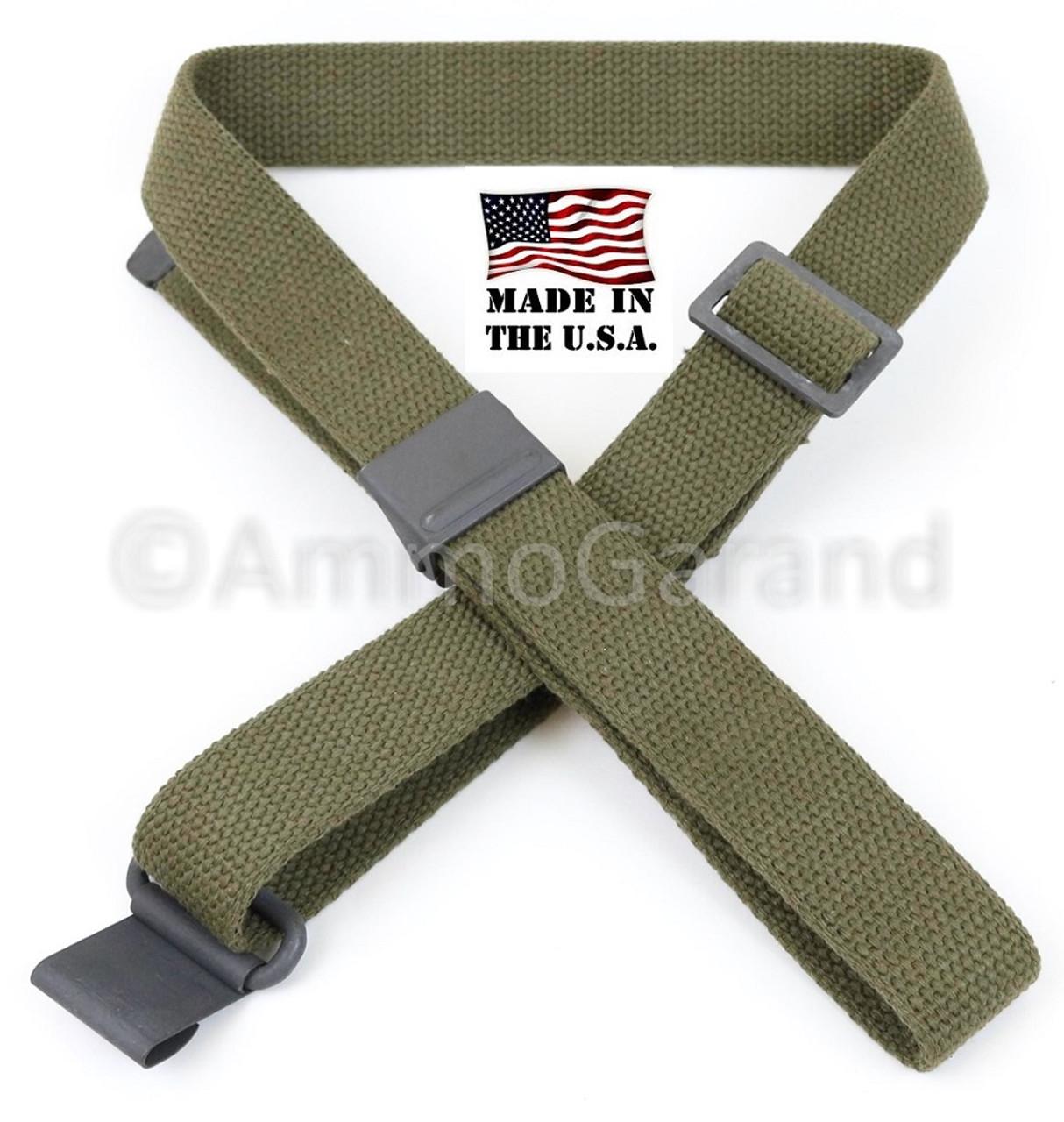 AmmoGarand OD Cotton Web Sling for M1 Garand