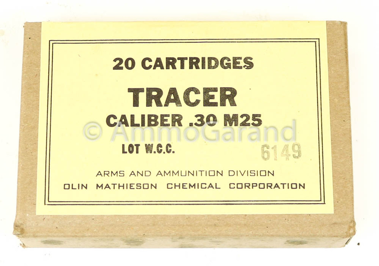 30-06 M25 Tracer 20rd Box USGI