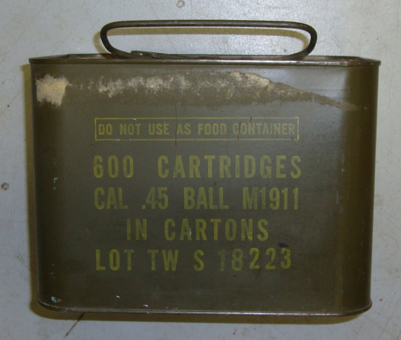 600rd Spam Can .45 ACP Twin Citites 50's Vintage