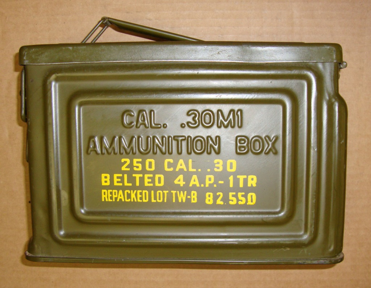 M1 Ammo .30 Can WWII Vintage Made by Reeves