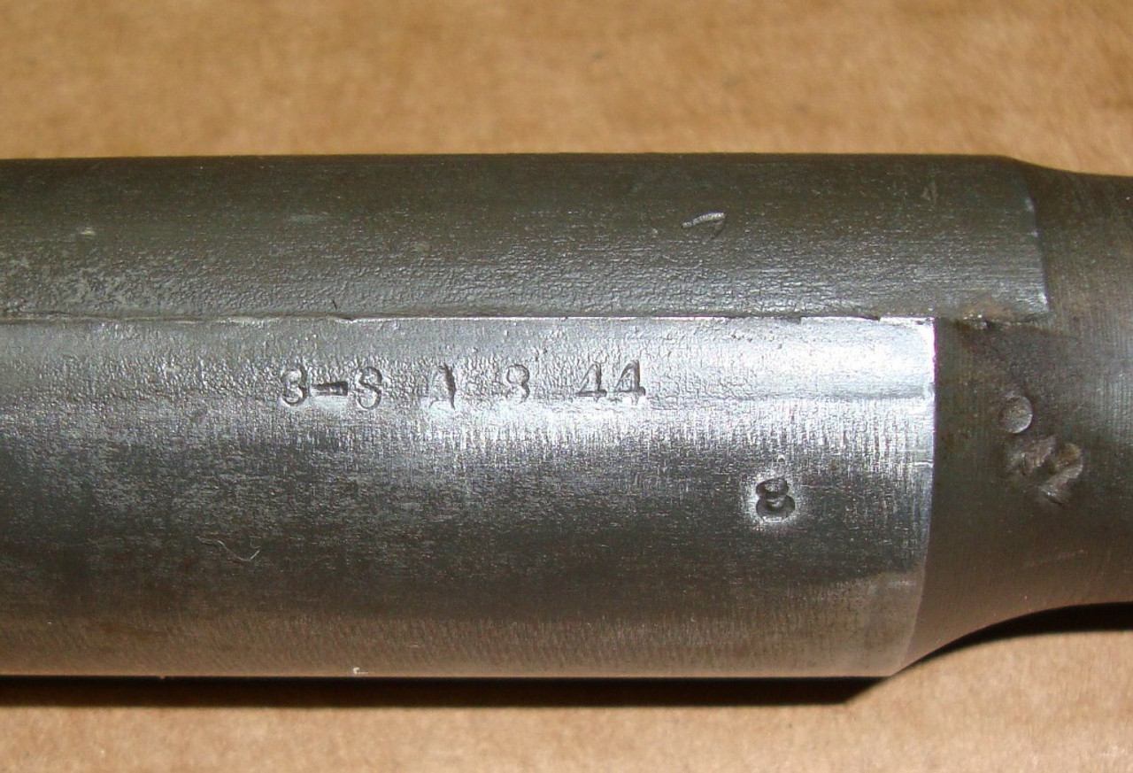 M1 Garand Barrel Springfield August 1944 ME 1.9 TE 3.1