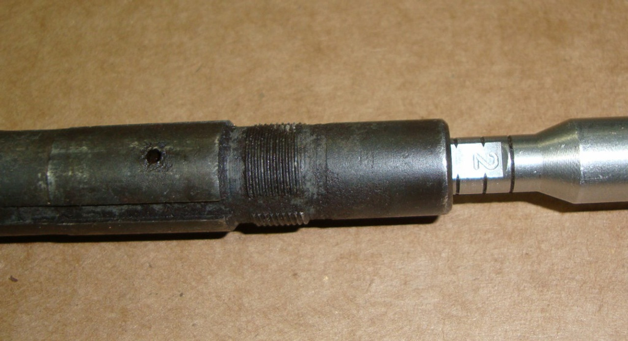M1 Garand Barrel Springfield January 1945 ME 0.8 TE 2.0