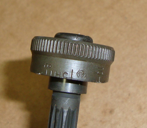 M1 Garand Rear Sight Elevation Pinion Assembly IHC International Harvester IHC with W Hex Marked