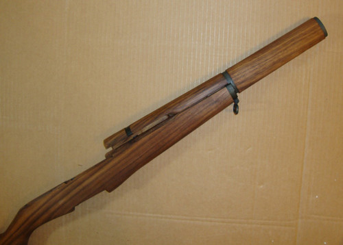 """M1 Garand Matched Stock Set w/Metal - Walnut """"Slim"""" Pattern with all New Metal Installed<br>Select Grade AA2"""