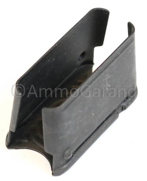Top view of garand clip