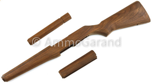 "M1 Garand Matched Stock Set American Walnut ""Slim"" Pattern W/O Metal SE02"