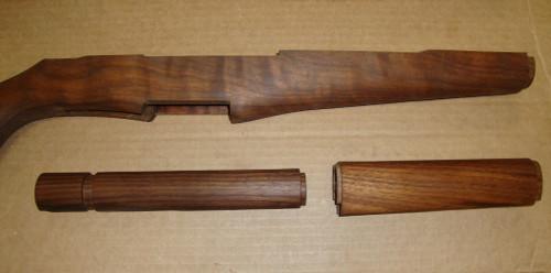 """M1 Garand Matched Stock Set American Walnut """"Slim"""" Pattern SE05"""